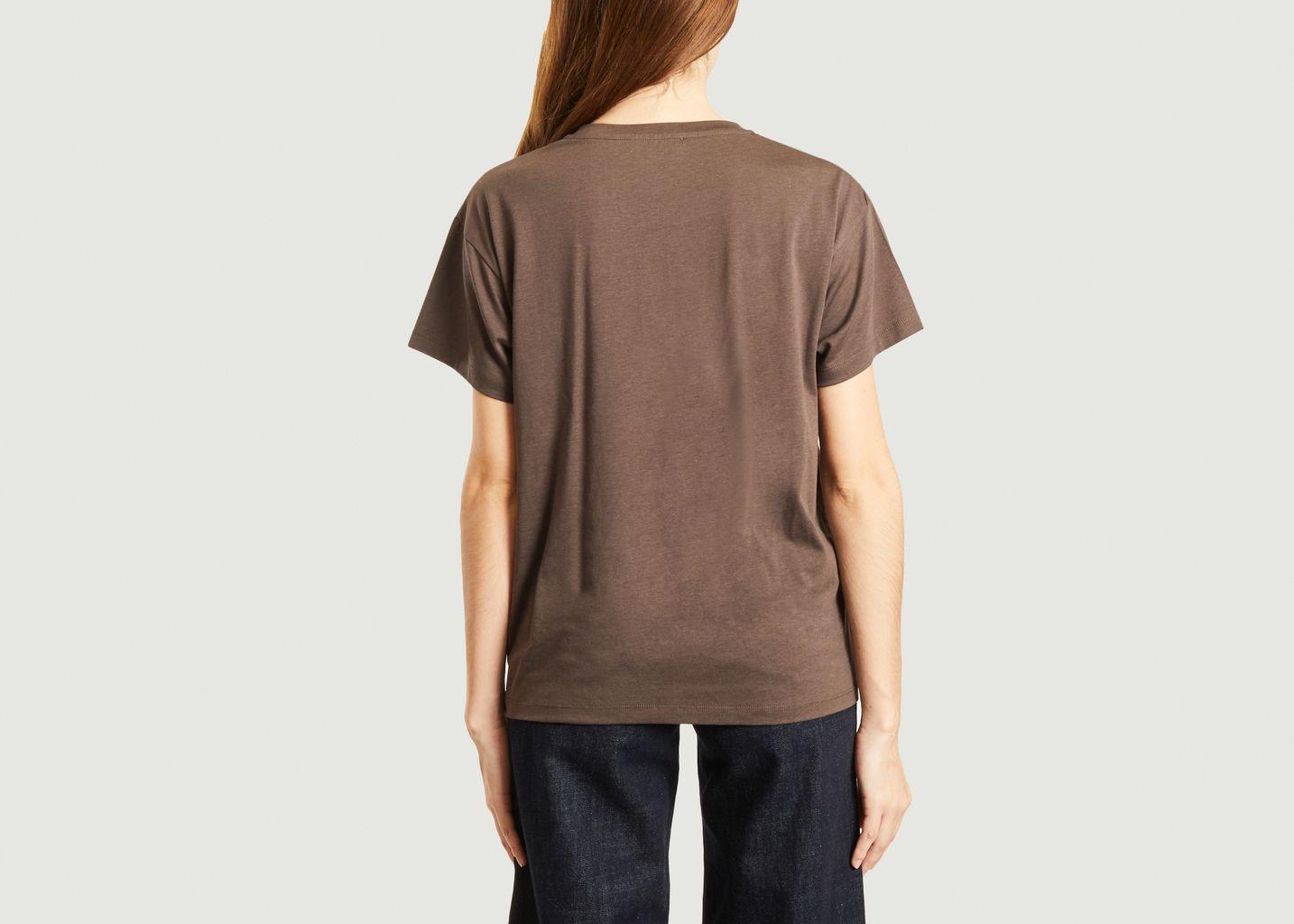 T-shirt en lyocell et coton Tees - Sessun