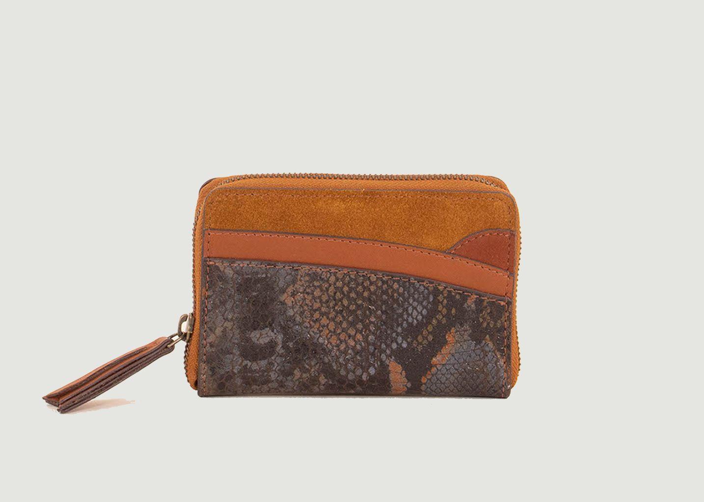 Portefeuille en croûte de cuir Koei - Sessun