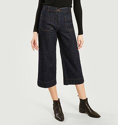 Jean brut ample 7/8e Seakey