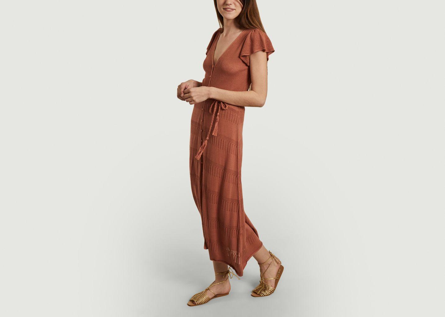 Robe mi-longue en maille Alova - Sessun