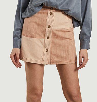 Mini jupe patchwork Baby Doo