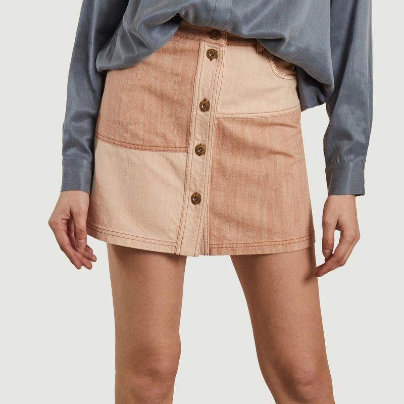 Mini jupe patchwork Baby Doo - Sessun