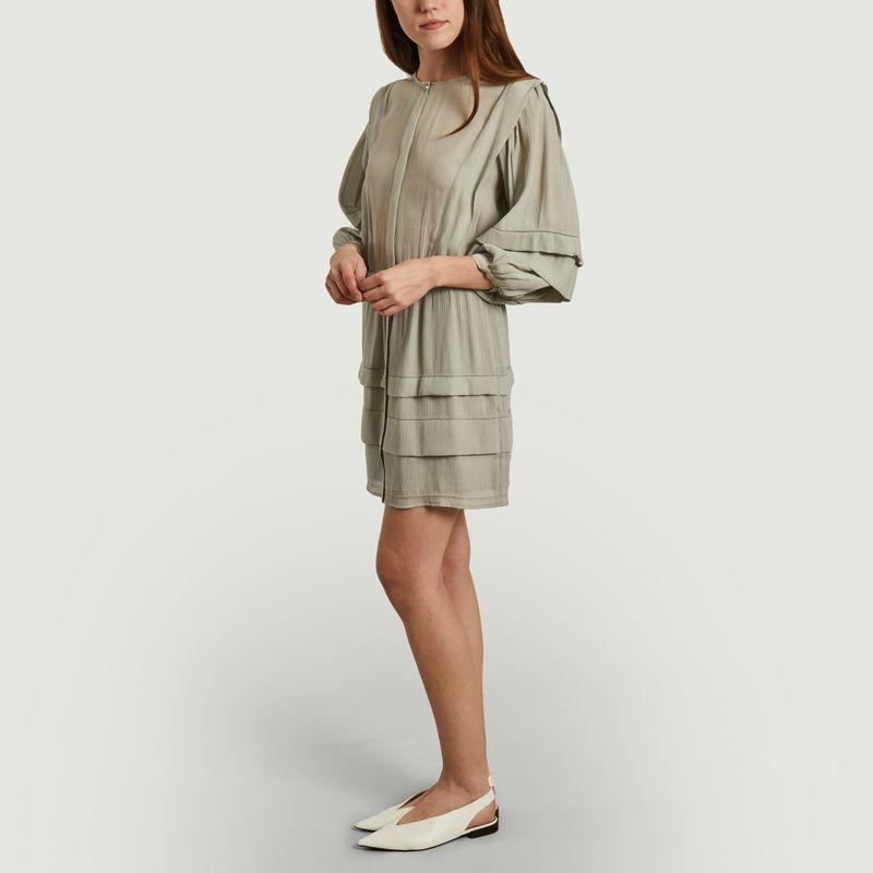 Robe texturée manches 3/4 Clay - Sessun