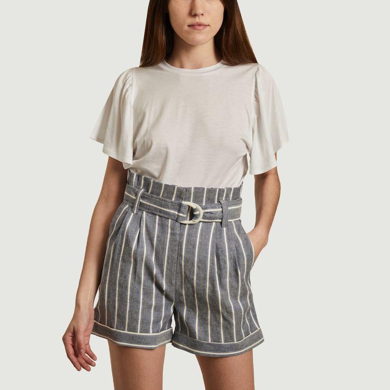 T-shirt en lyocell et coton Cruz - Sessun