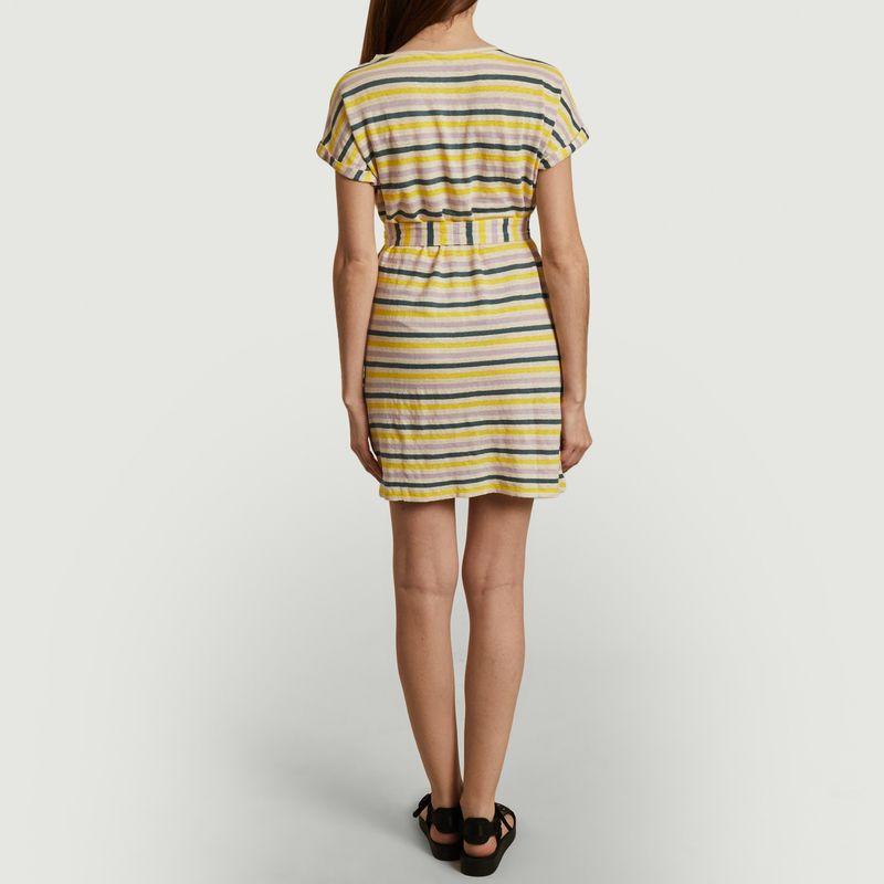 Itamilin linen striped t-shirt dress - Sessun