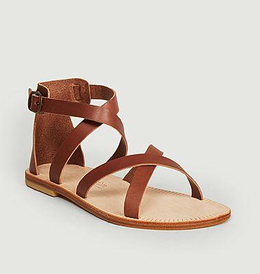 Sandales plates Nérée