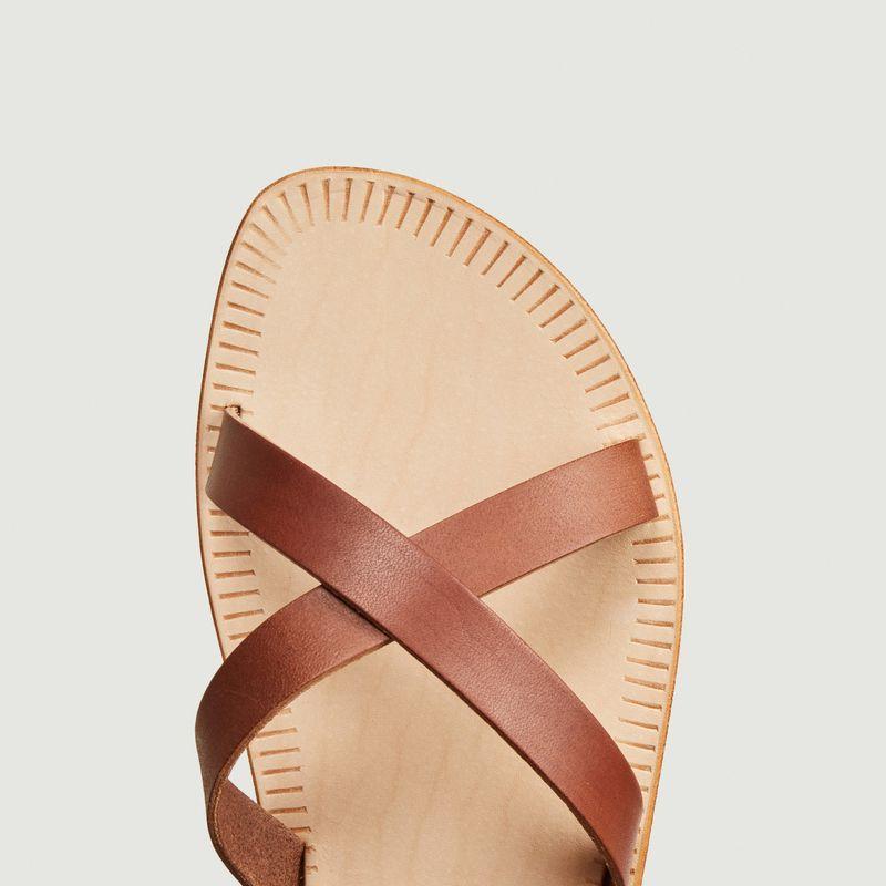 Sandales plates Nérée  - Sessun