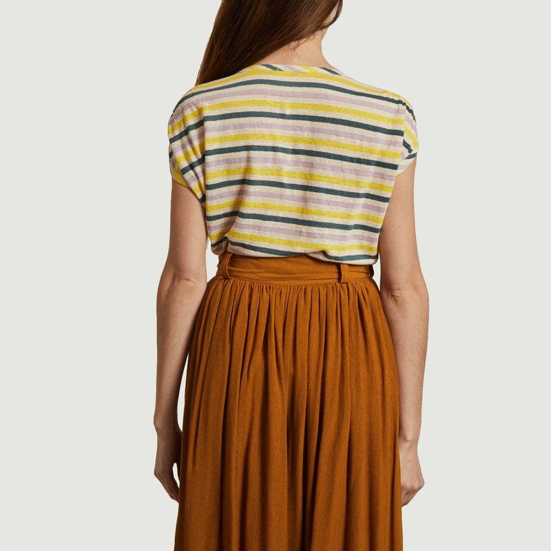 T-shirt rayé en lin Sixtolin - Sessun