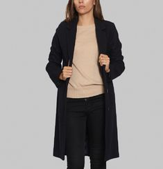 Manteau Long Jean