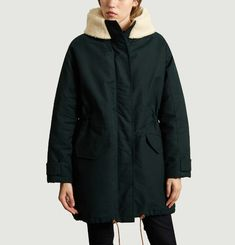 Parka A Capuche Wood Girl