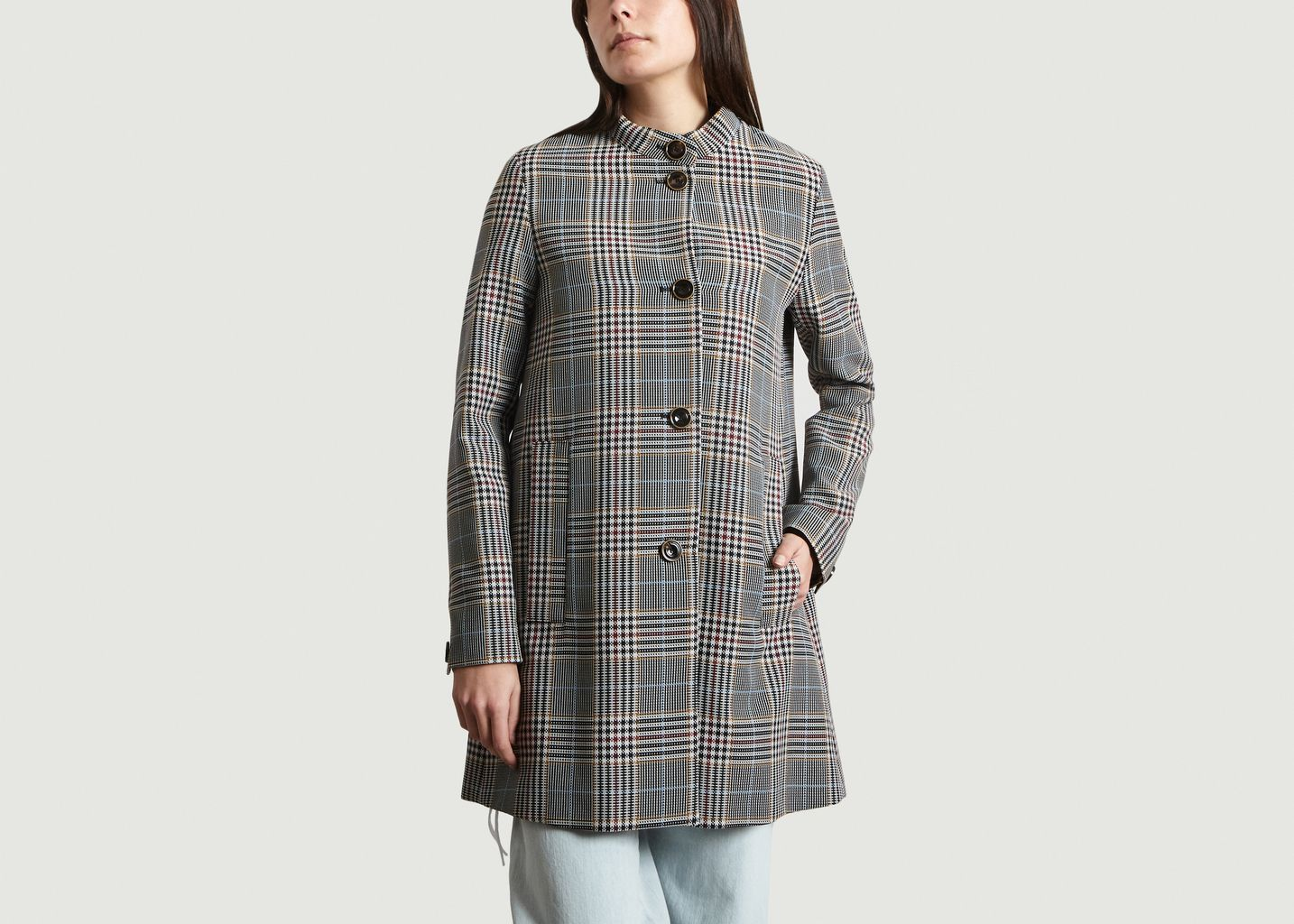 Manteau Buxton St à Carreaux - Sessun