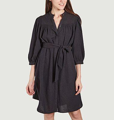 Robe chemise en laine Whitney