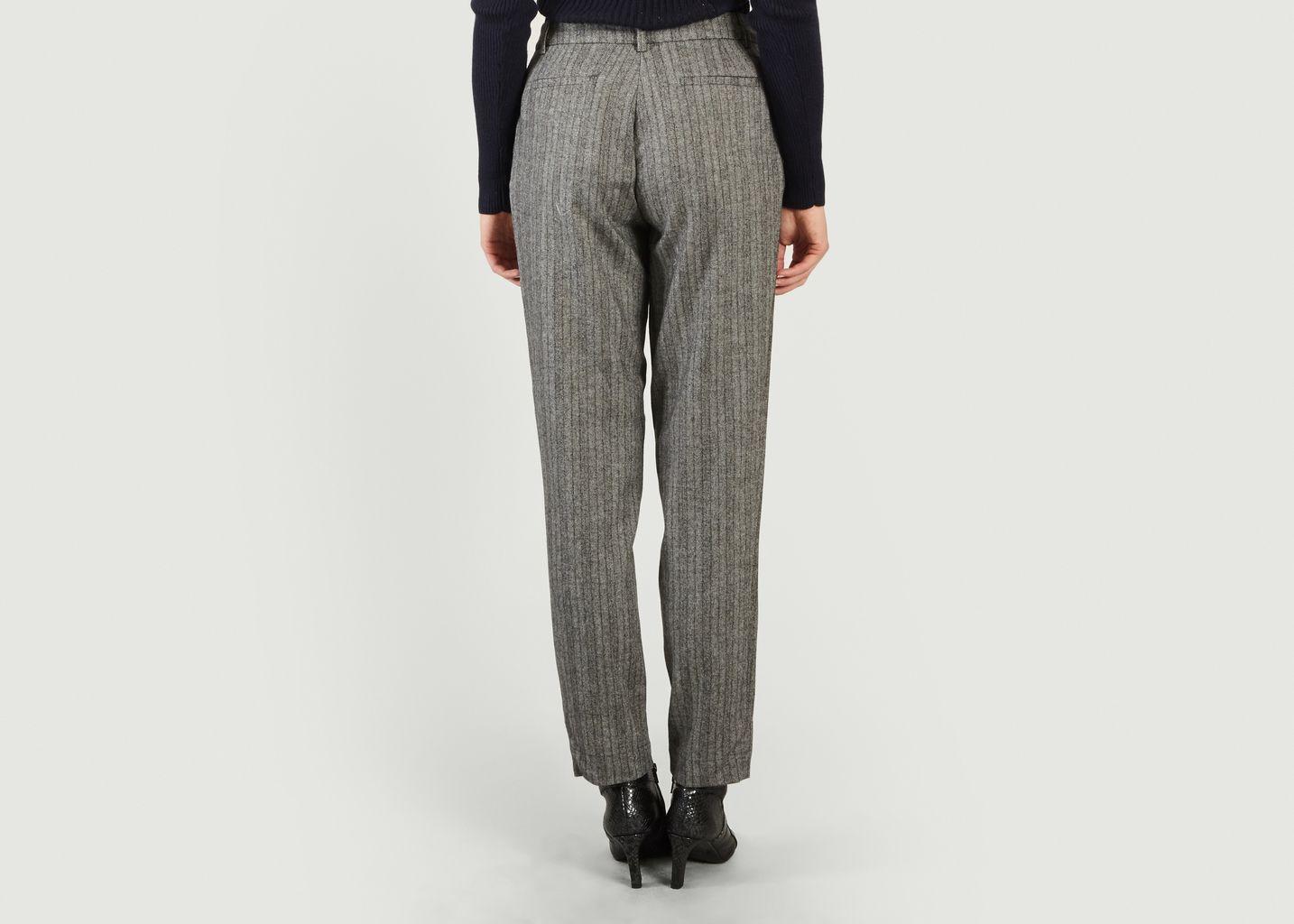 Pantalon En Flanelle Nu Gaston - Sessun