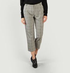 Pantalon De Tailleur A Carreaux Lord W