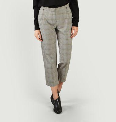 Pantalon De Tailleur A Carreaux Lord W