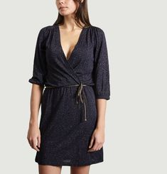 Robe Rosie Night Cache-cœur