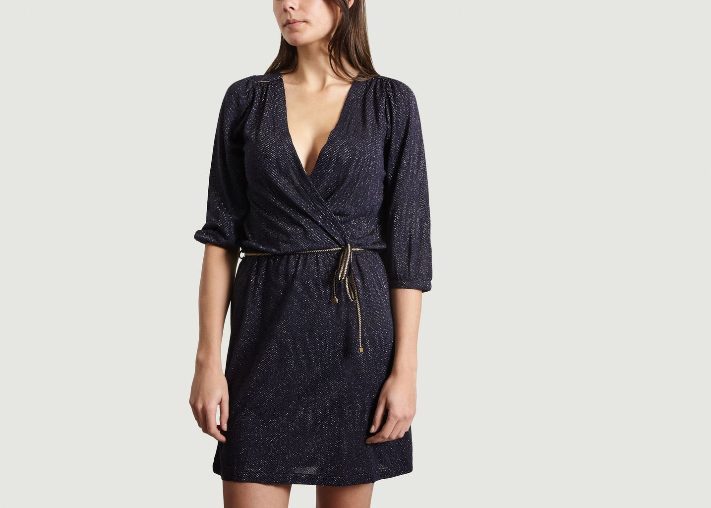 Robe Rosie Night Cache-cœur - Sessun