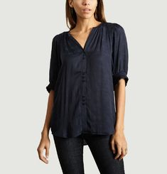 Blouse Manches 3/4 A Smocks Venusia