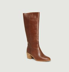 Bottes Ludd Cuir Lisse