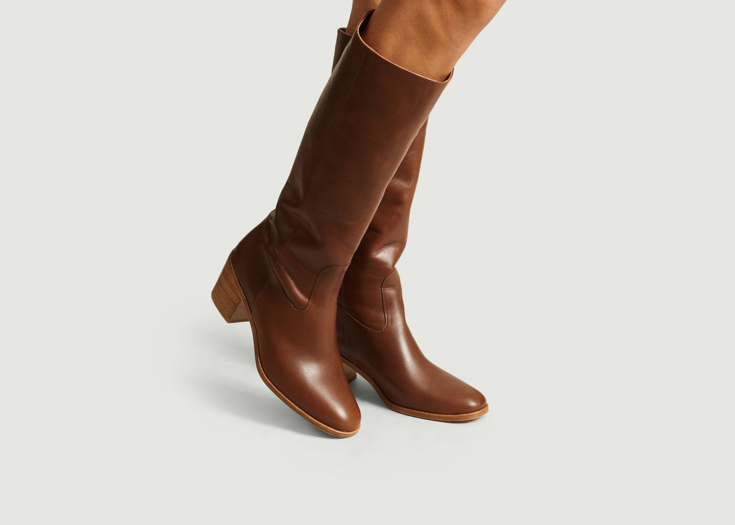 Bottes Ludd Cuir Lisse - Sessun