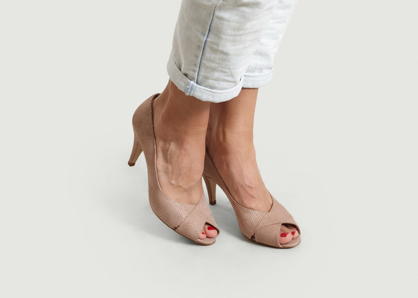 Angelica Chain Nude sale angelica heels nude sessùn at -50% | l'exception