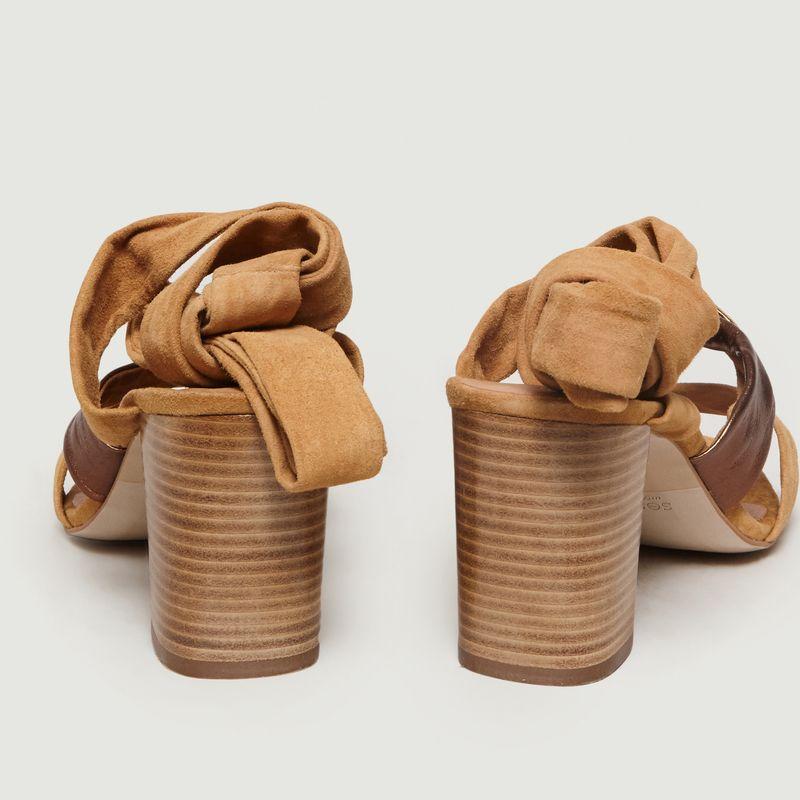 Sandales Nouées En Cuir Kimpa - Sessun