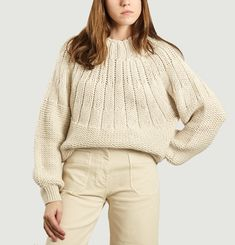 Pull Court Maille Cavaleira