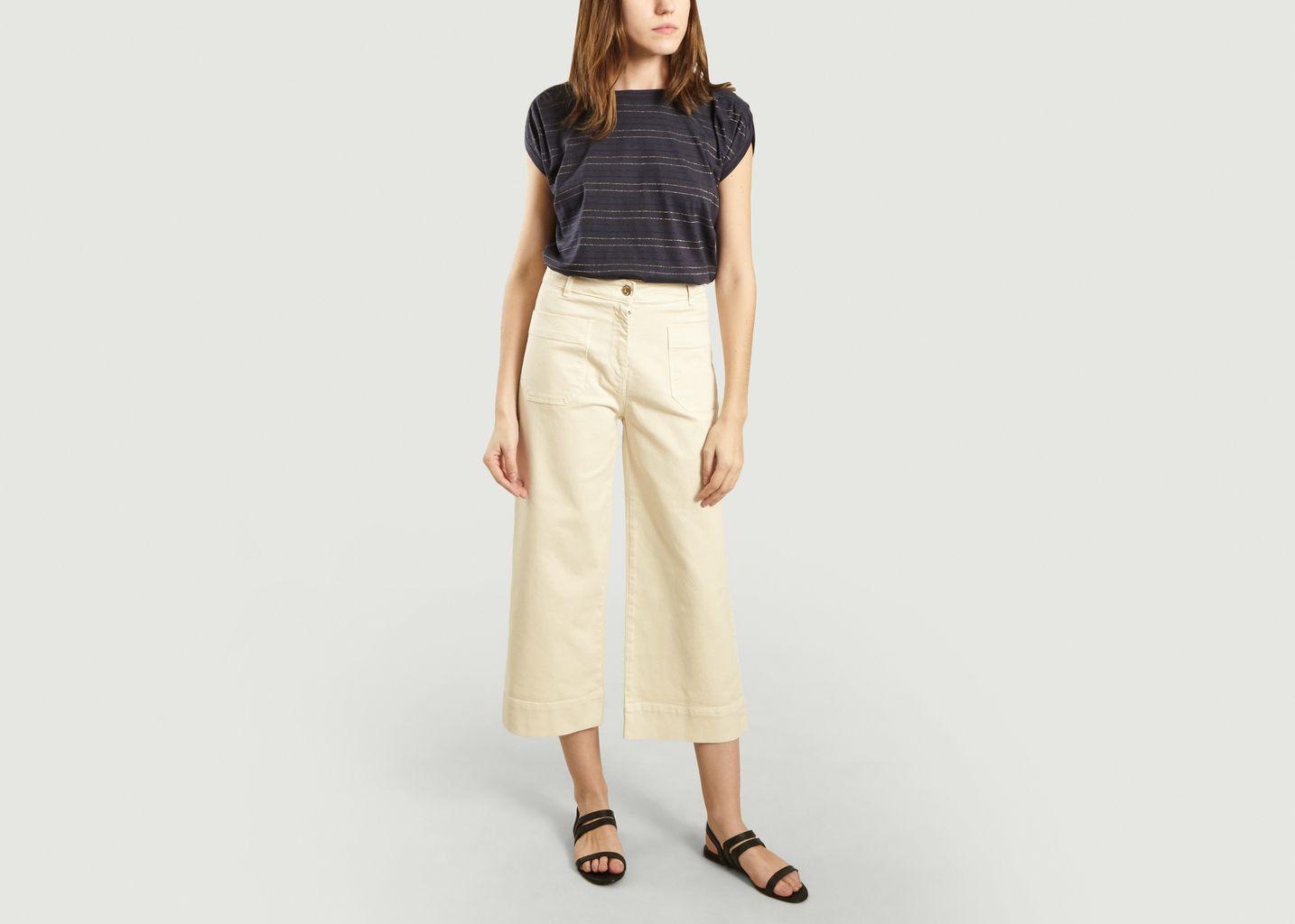 T-Shirt Sixto Night Stripes - Sessun