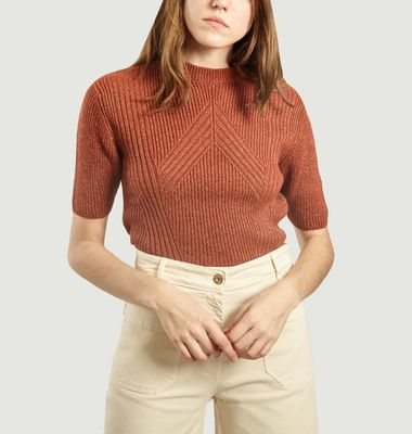 Pull Court Maille Jane