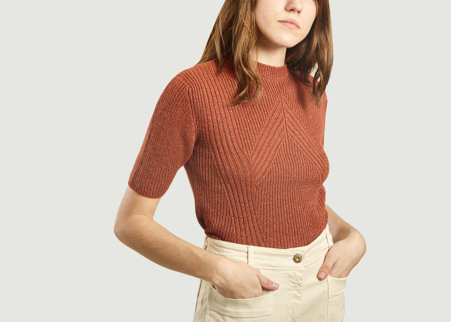 Pull Court Maille Jane - Sessun