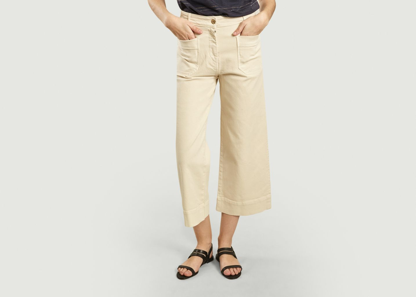Pantalon Denim Seakey Fleur de Sel  - Sessun