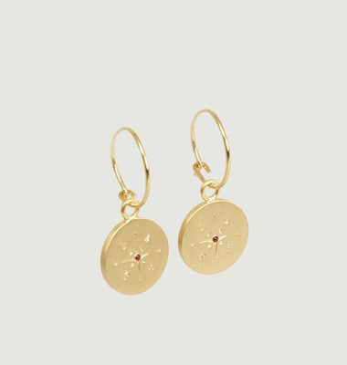 Boharo Hoop Earrings