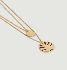 Cosera M Double Necklace With Pendants