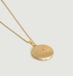 Johora Necklace With Engraved Fob