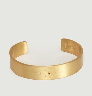 Orao Engraved Bangle Bracelet