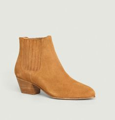 Sisters Suede Leather Elasticated Boots