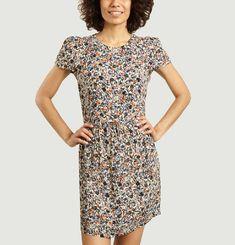Wax Koko floral pattern dress