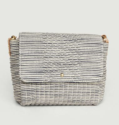 Petit sac en coton Joness Stripes