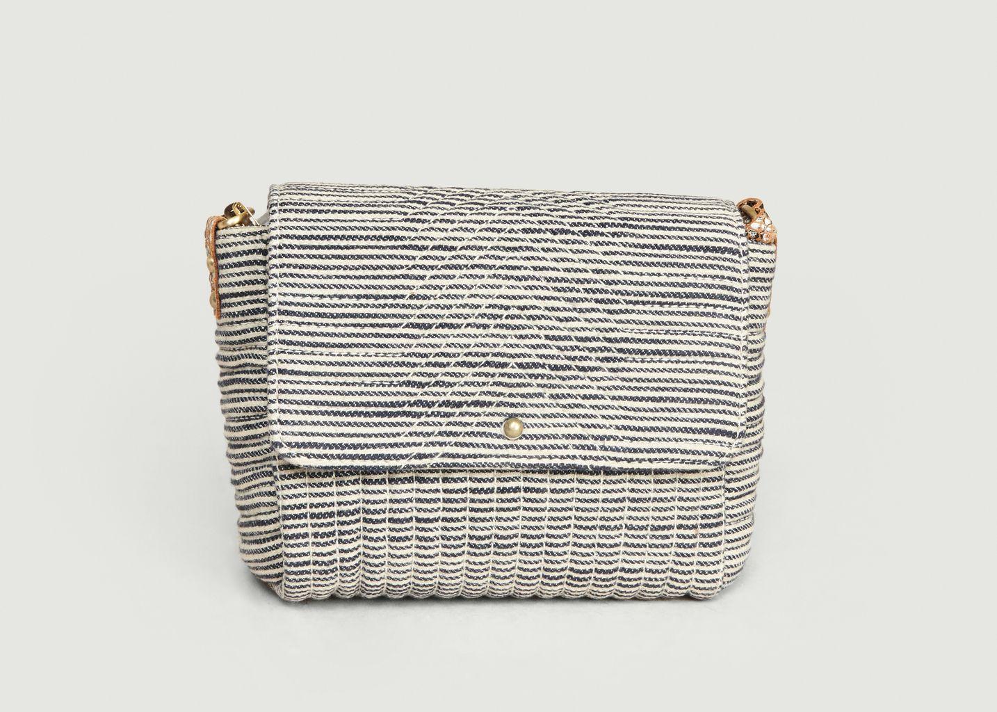 Petit sac en coton Joness Stripes - Sessun