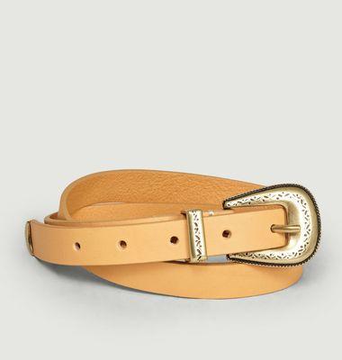 Tillie leather belt