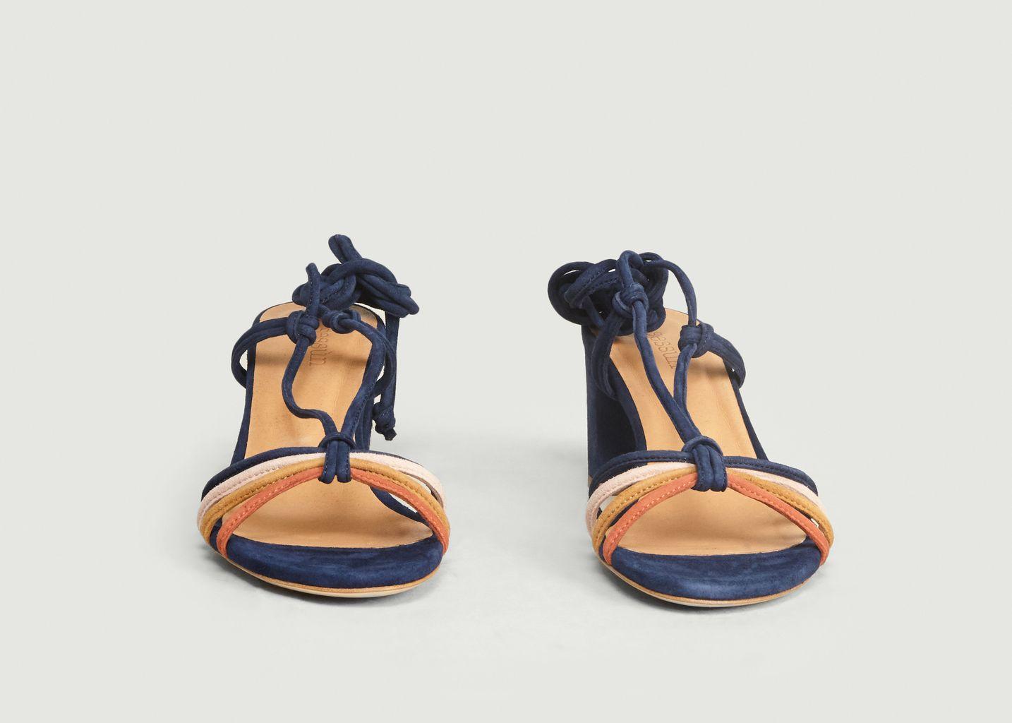 Sandales en Cuir à Talons Stellina - Sessun