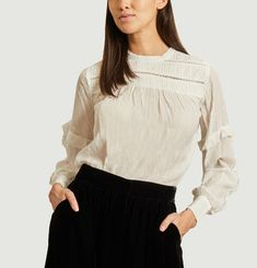 Aloa ruffled blouse