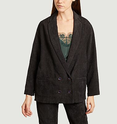 Alta H corduroy oversized blazer