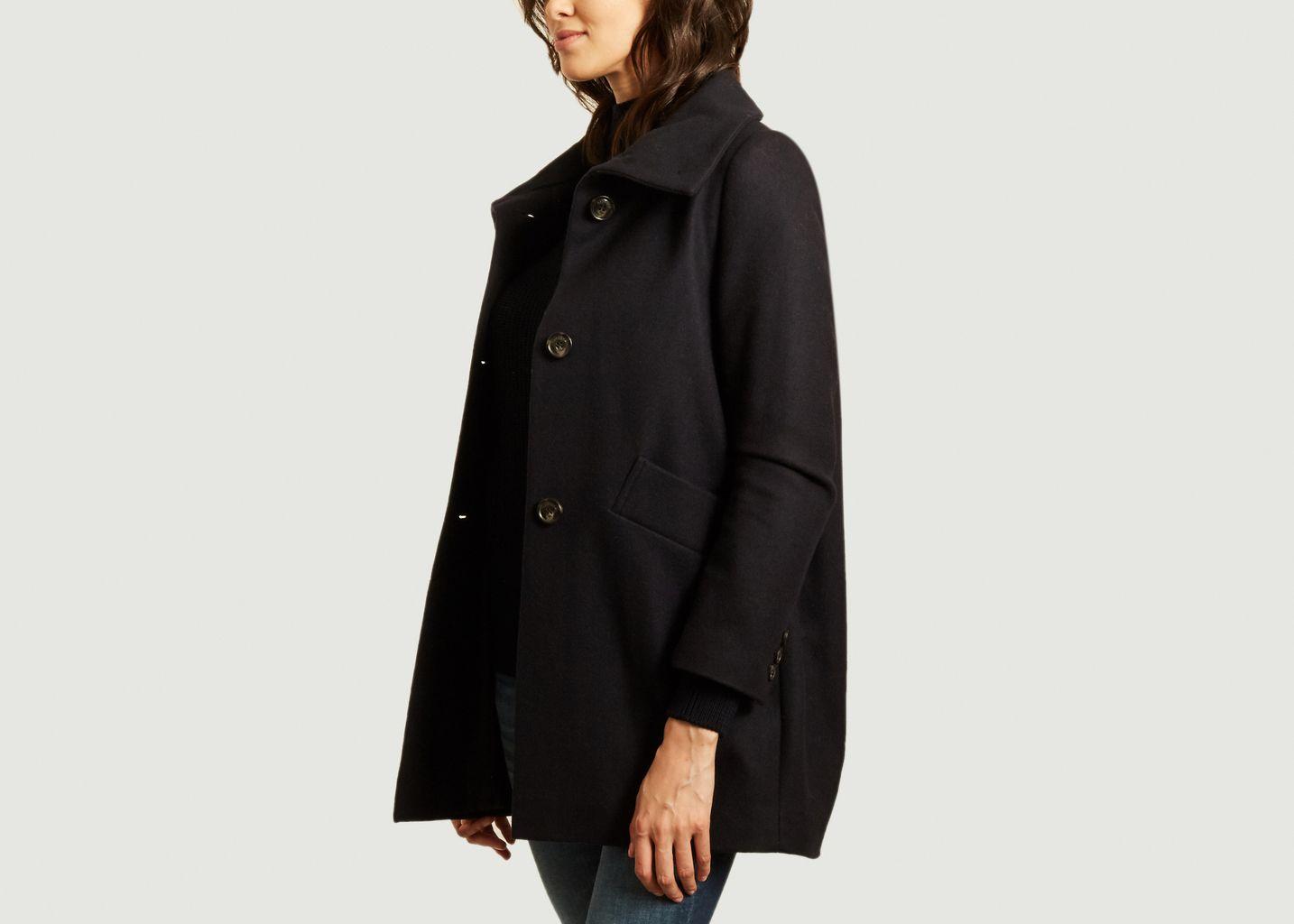 Manteau boutonné col haut Chera - Sessun
