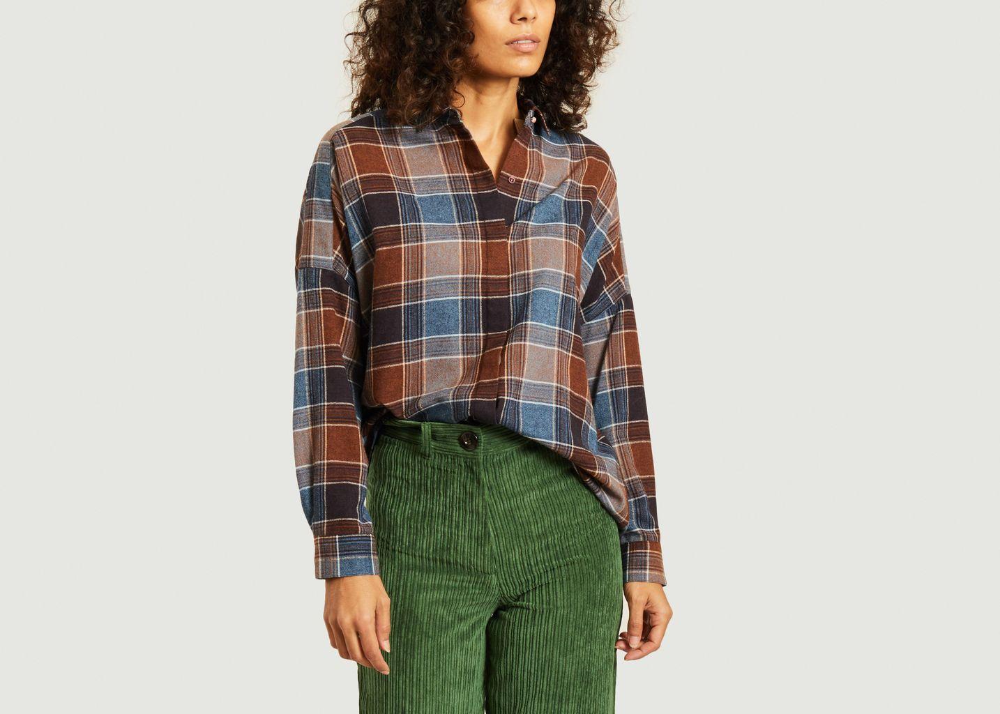 Chemise à carreaux Deliwool - Sessun