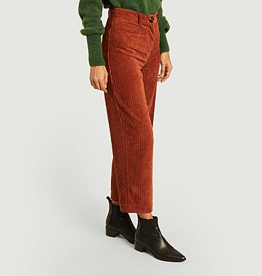 Pantalon velours Cybill
