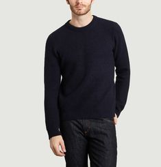 Pull Col Rond Chunky