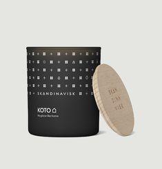 Bougie parfumée Koto