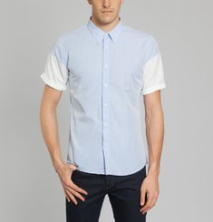 Contrasted Shirt