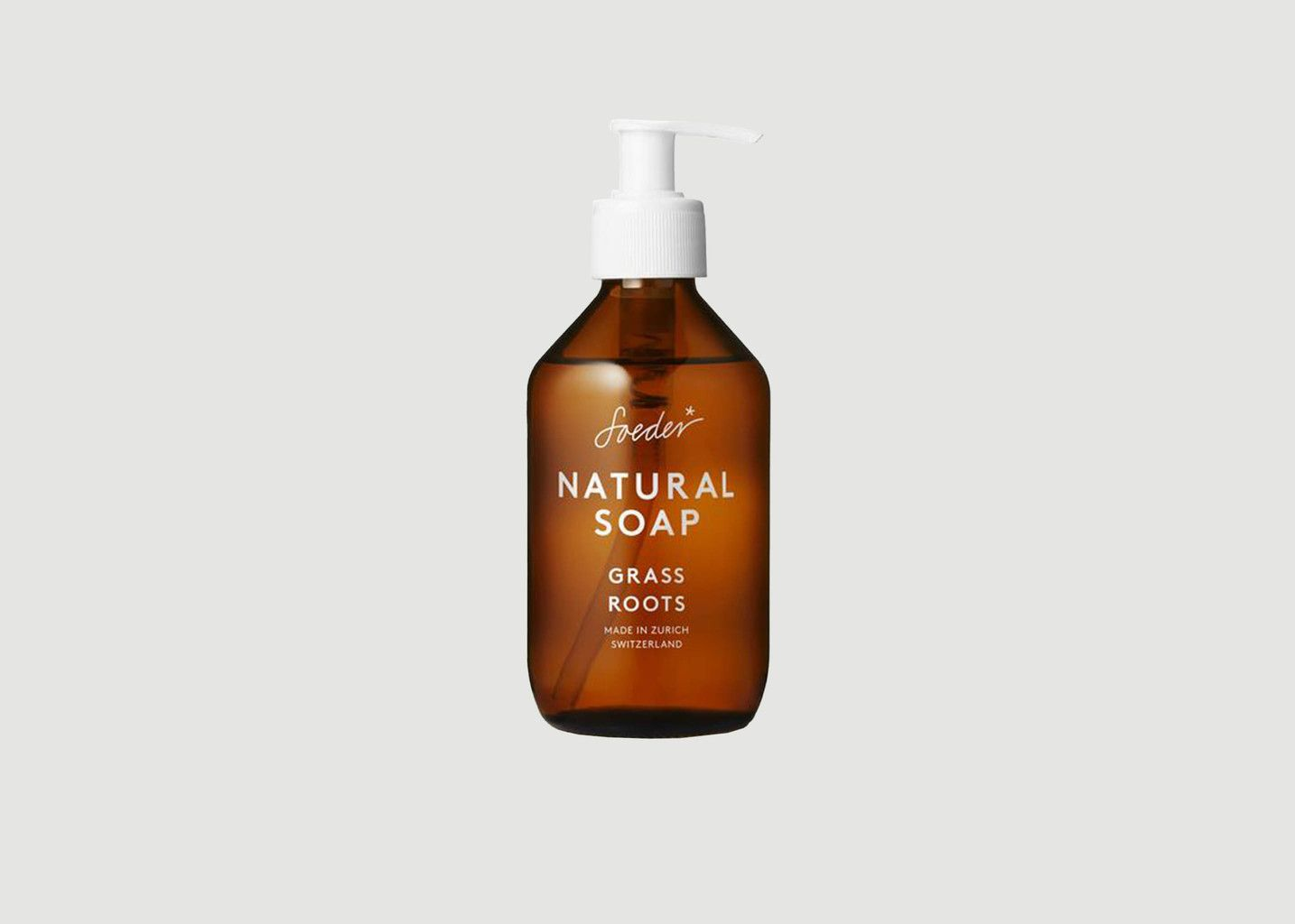 Natural Herbal Soap 250ml - Soeder